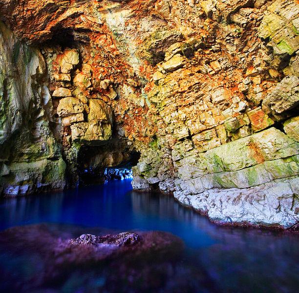 jeskyně Chorvatsko