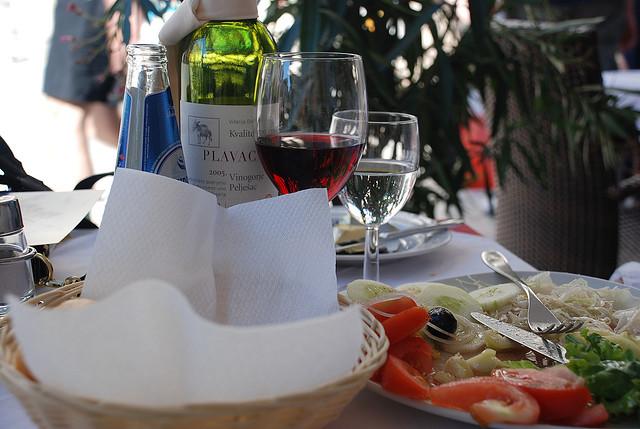 pití v Chorvatsku