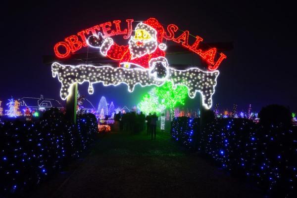 vánoční světla chorvatsko