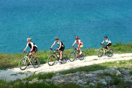 Cykloturistika v Chorvatsku na jaře
