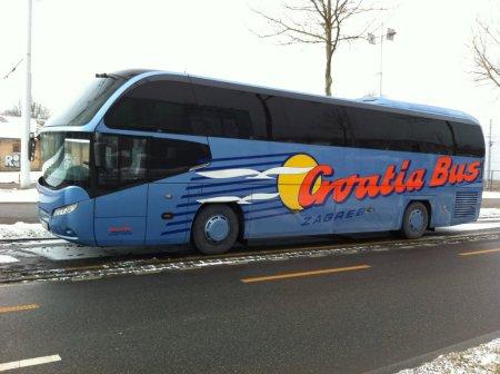 autobus chorvatsko