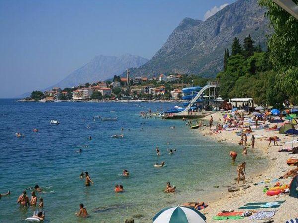 Nejkránější pláž Gornja vala
