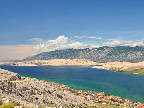 Prázdniny na ostrově Pag v Chorvatsku