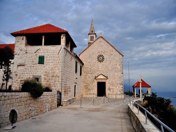 Františkánský klášter na poloostrově Pelješac