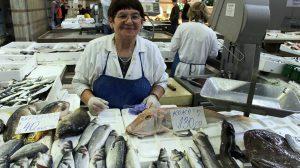 Zagreb - rybí trh