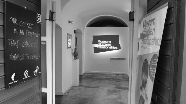 Záhřeb - Muzeum rozpadlých vztahů