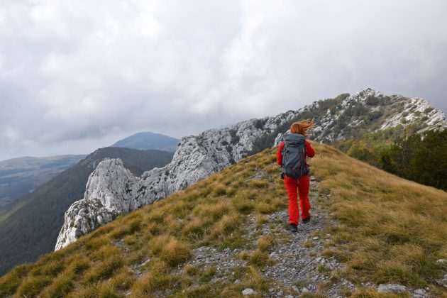 Dlouhou stezkou po chorvatském pohoří Velebit