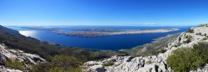 Výhledy z pohoří Velebit