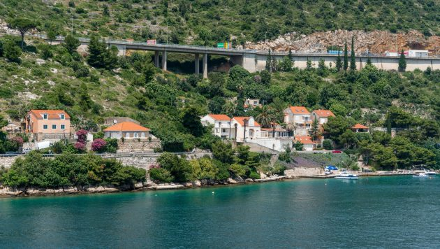 Chorvatsko - dálnice