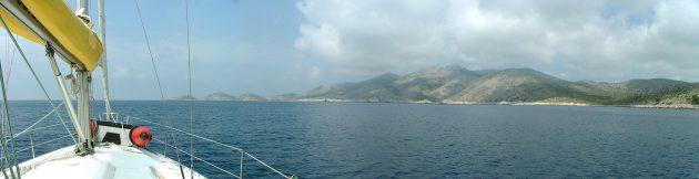 Chorvatskem na lodi