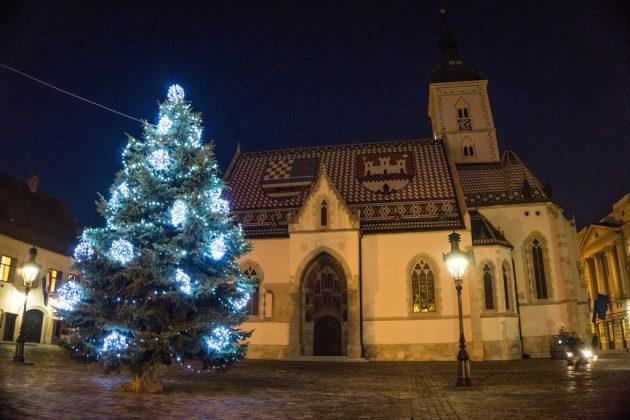 Vánoce v Záhřebu