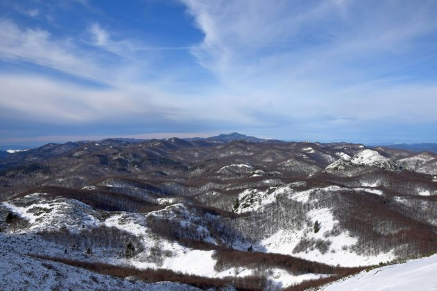 Zima v Chorvatsku