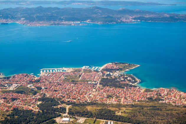 Zadar a Ugljan