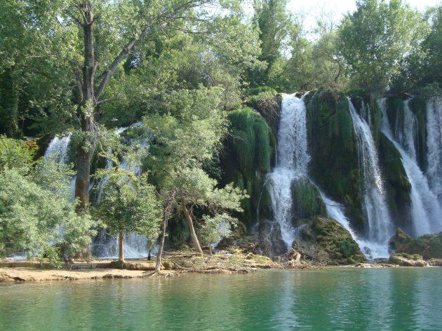 Vodopád_řeka Cetina