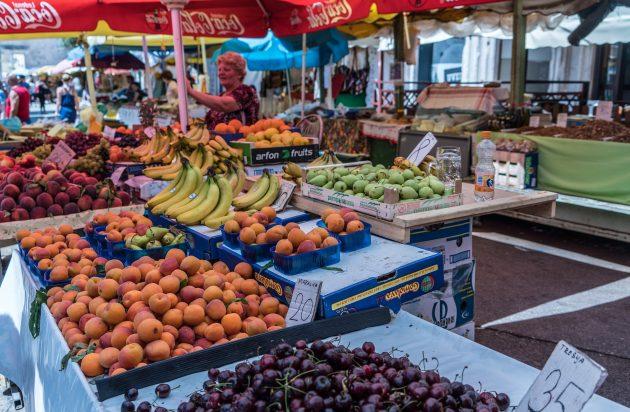Kolik v Chorvatsku utratíte za potraviny v roce 2017