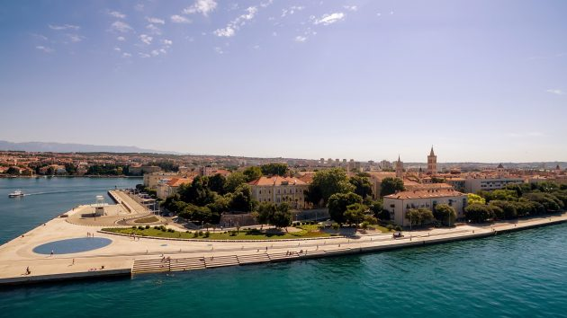 Zadar a nedaleká plážová letoviska