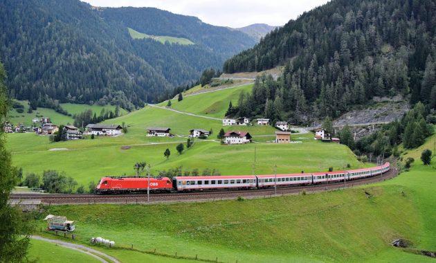 vlakem do Chorvatska