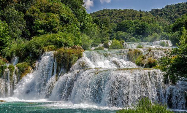 Národní park Krka pěšky nebo lodí