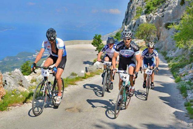 Cyklisté v Chorvatsku
