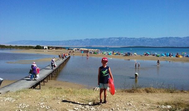 královnina pláž Nin