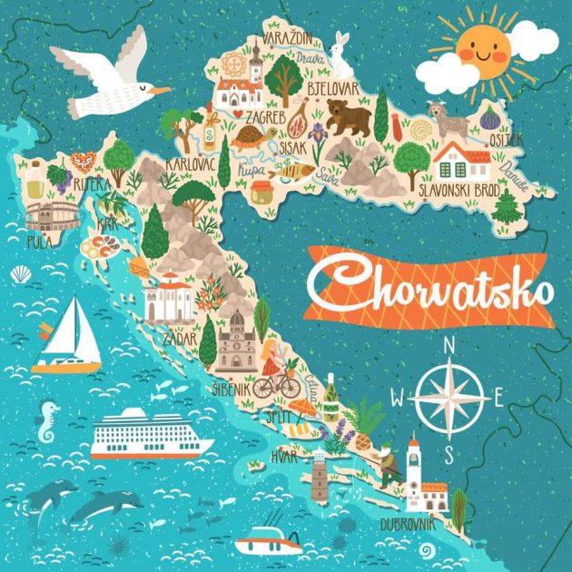 kam do chorvatska