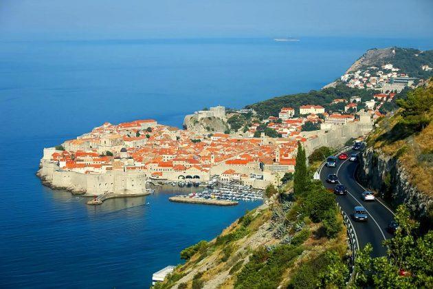 Chorvatsko cesta