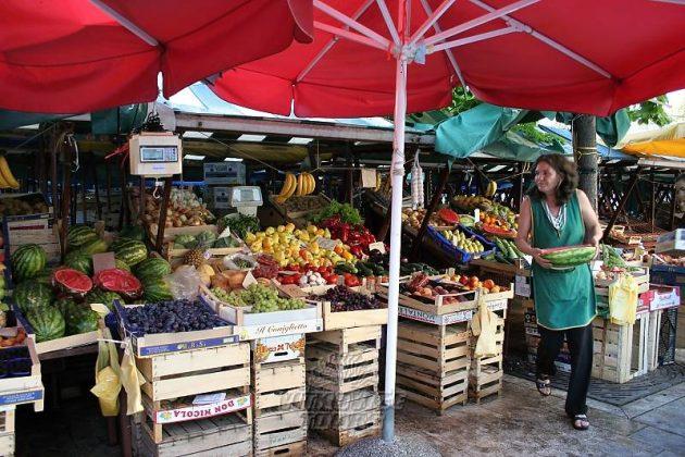tržnice chorvatsko