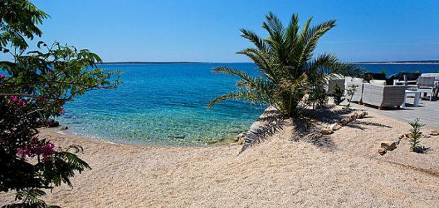 Chorvatsko Mandre ostrov Pag
