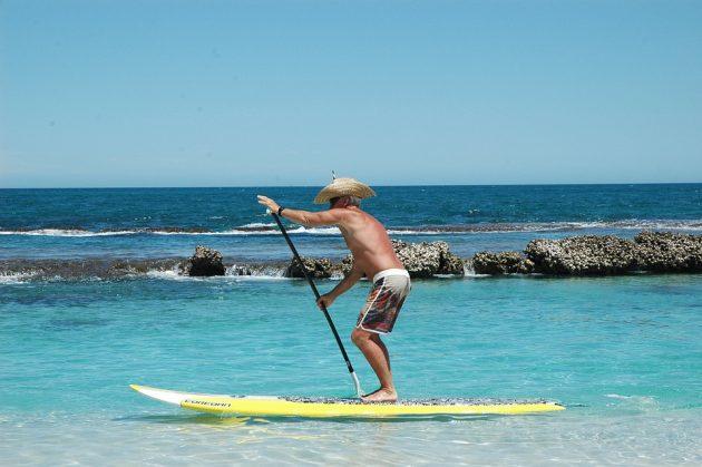 paddleboard v Chorvatsku