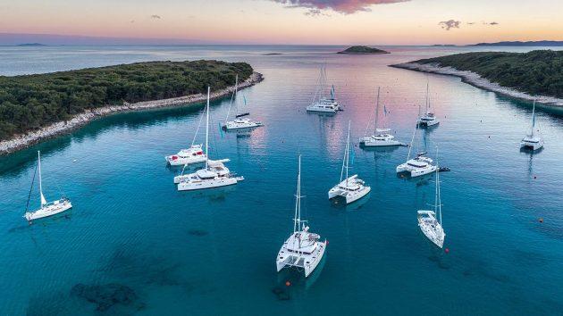 lodě Chorvatsko