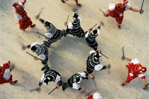 Korčula, rytířské slavnosti