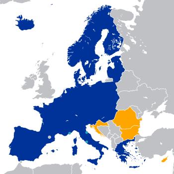 Schengen chorvatsko