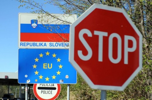 slovinsko chorvatská hranice