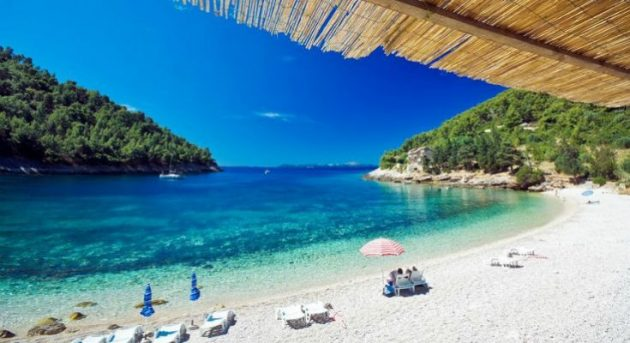 pláž Chorvatsko