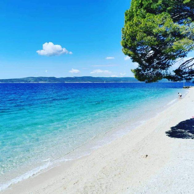 pláž Soline, Brela