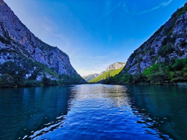řeka Cetina v Omiši
